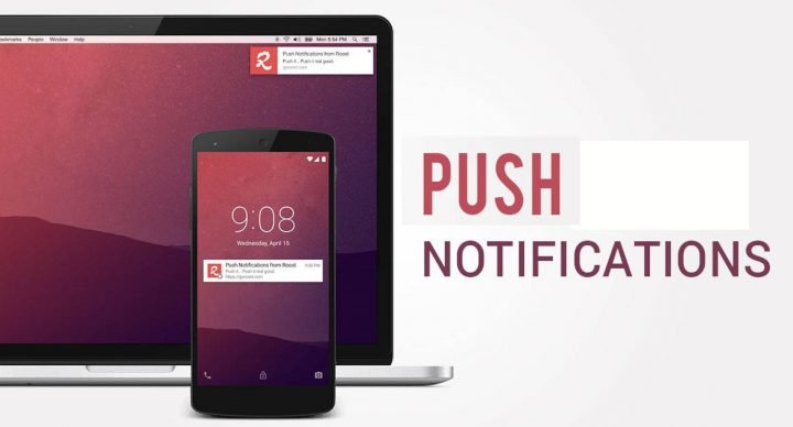 Push notifications succeed