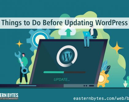 Things to Do Before Updating WordPress
